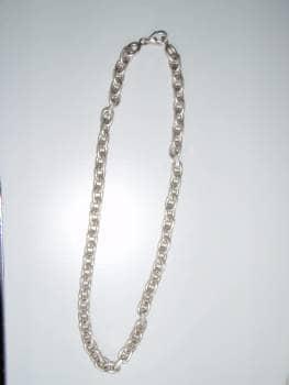 Ankerkæde i sølv