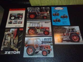 Traktor brochurer