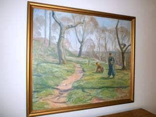 Mølgaard Andersen Maleri