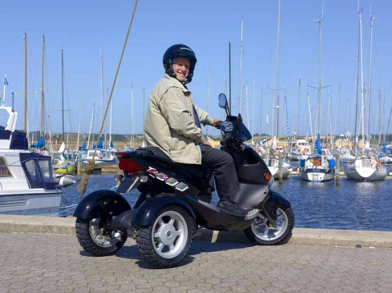 PGO Trike 3-hjulet invalide-scooter