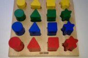 Kids-Wood form puslespil