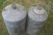 Brændstofdunke 30-40 liter