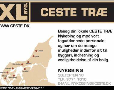 CESTE TRÆ – NYKØBING