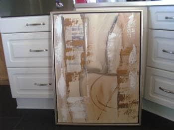billed - Ulleruphusevej 17,alsted - billed med brunlige farver samt guld &sølv… - Ulleruphusevej 17,alsted