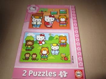 Hello Kitty puslespil