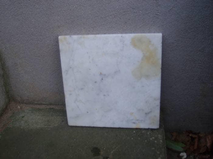 Marmorplade