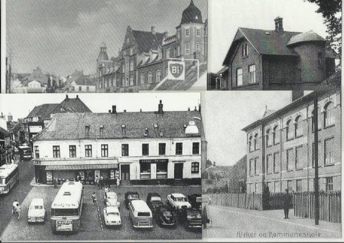 Gamle billeder fra Skive m.m.
