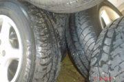alufælge med dæk, NY PRIS