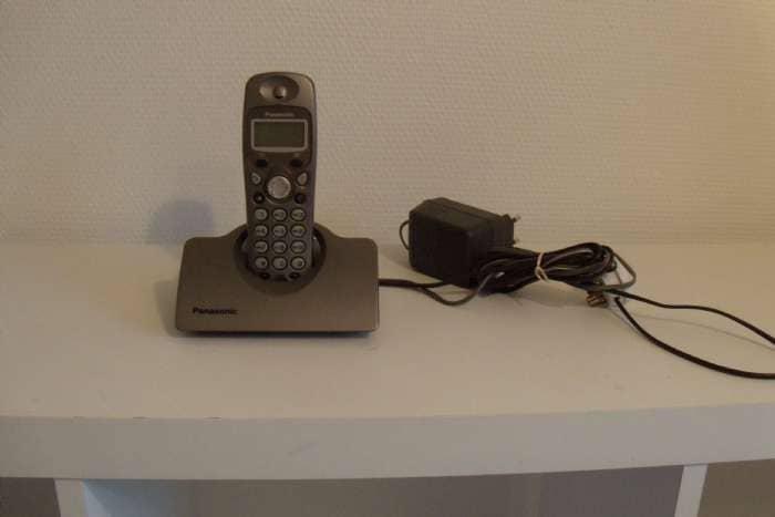 Panasonic trådløs telefon