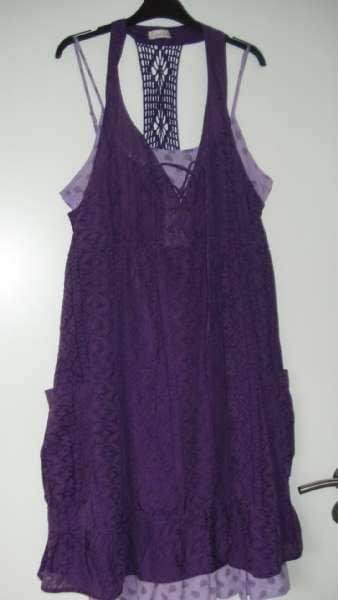 To delt kjole