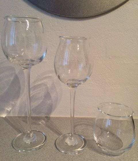 Ballet hvidvinsglas 12 stk - Danmark - Holmegaard, Ballet hvidvinsglas. Fejler absolut intet. Samlet pris 1200,-. Stk pris 125,- - Danmark