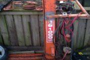 12V Hydraulisk lift sælges