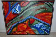 Abstrakt maleri