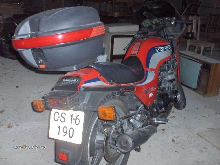 Kawasaki GPZ 750 - Ravnstrupvej 37, 8800 Viborg - Flot og velkørende MC – som foto sælges. Har kun kørt 43000 km. Evt. bytte med touring-mc - Ravnstrupvej 37, 8800 Viborg