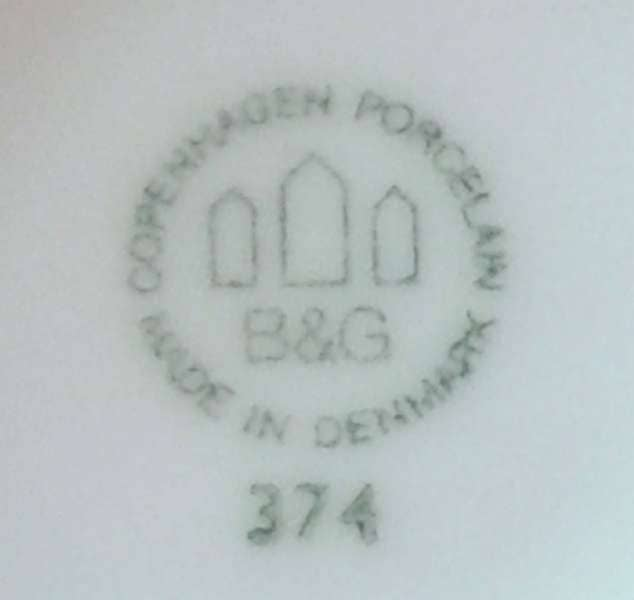Whiskydunk fra Bing & Grøndahl