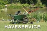 Haveservice tilbydes