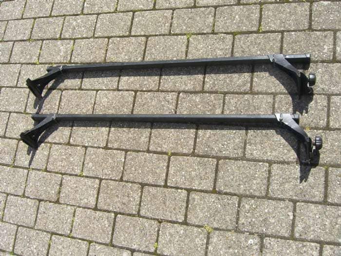 Tagbøjler - Danmark - Tagbøjler til montering i tagrende. ca. 130 cm bredde. - Danmark