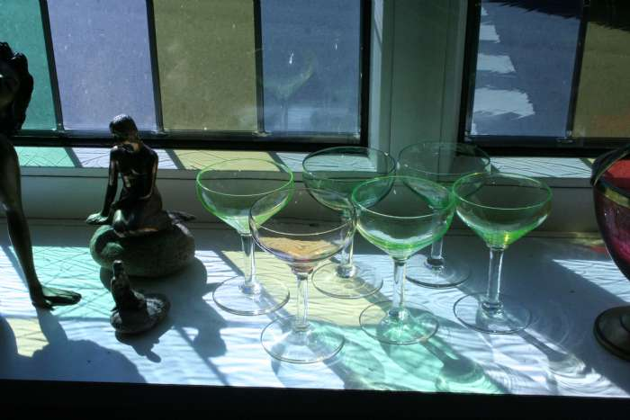 6 smukke Cocktail glas