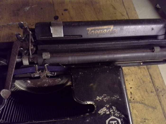 Retro skrivemaskine