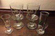 Vin-og snapseglas