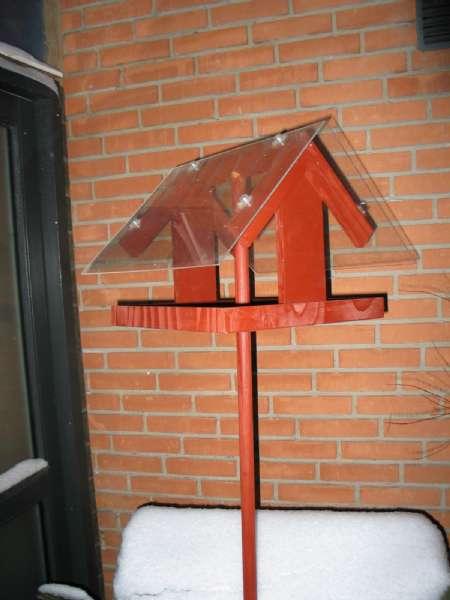 Fuglehus / foderbræt