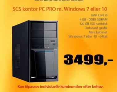 SCS kontor PC'ere