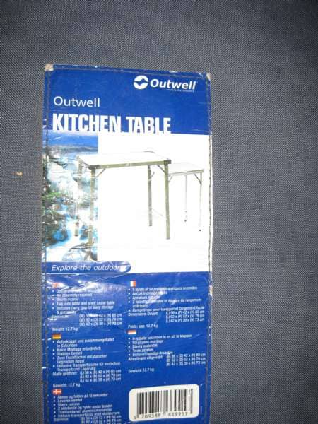 Outwell køkkenbord