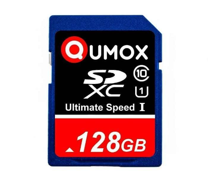 128 GB SDkort, hurtig – NYT