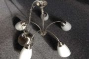 5 armet loftslampe