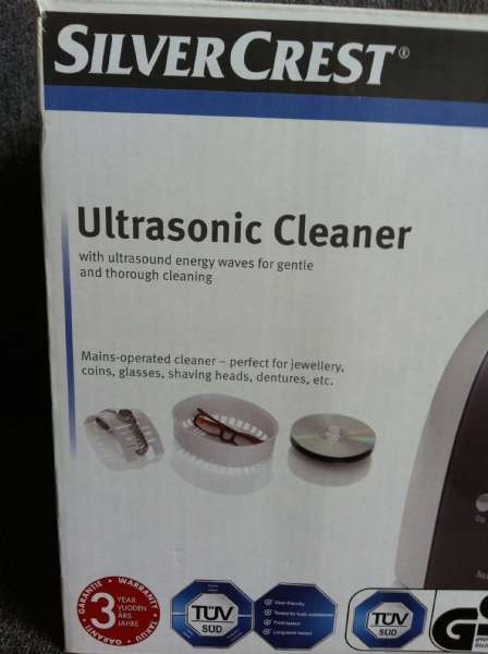 Ultasonic Cleaner Silver Crest