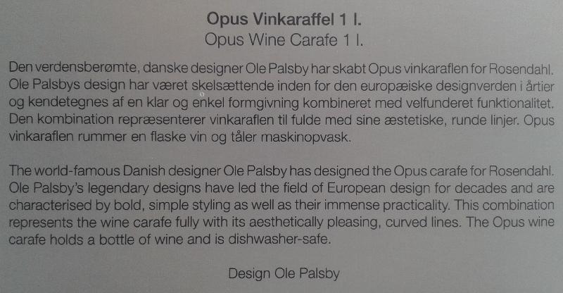 Vinkaraffel Opus