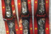 Shell nøgleringe Ferrari