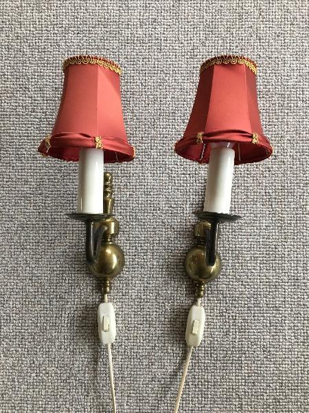 Fine gamle væglamper