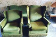 Vintage sofa sæt 3 + 1 + 1