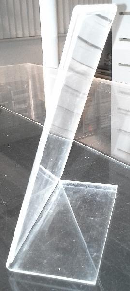 Skilteholder -ensidet A5