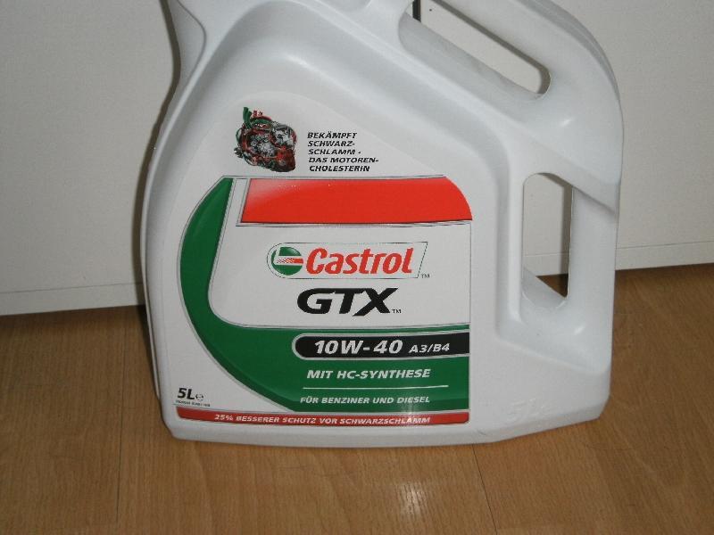 Castrol 10w-40 GTX