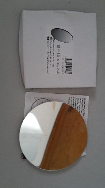 sminkespejl (X5) zoom Ø15 - Jebjerg - Dansani Forstørrelsesspejl (X5) zoom Ø15 ny selvklæbende sminkespejl - Jebjerg