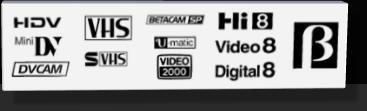 VHS og lysbilleder til DVD.