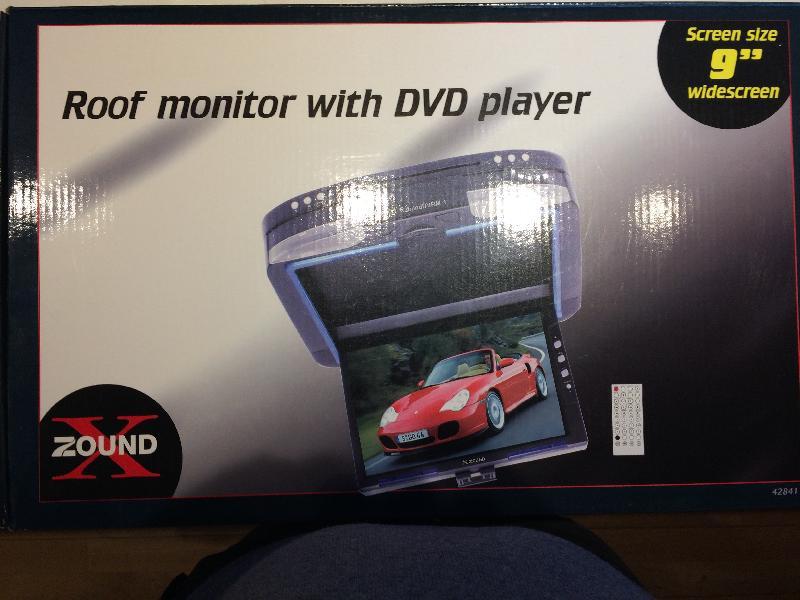Dvd til loftmontering - Tønderingvej 82 - Dvd til loftmontering i bil, Helt ny og i ubrudt emballage. - Tønderingvej 82