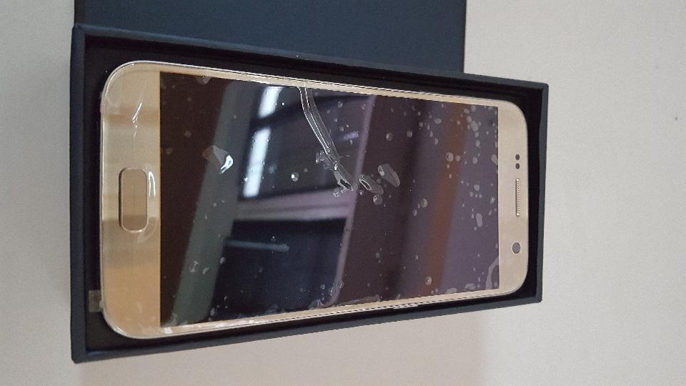 Ny Samsung Galaxy S7, 32 - Jebjerg - Ny Samsung Galaxy S7 tlf kun pakket ud fra dn 11/11-2016 sim kort nøgle mangler men der er en papir klips med der kan bruges - Jebjerg