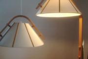 Standerlampe og loftslampe