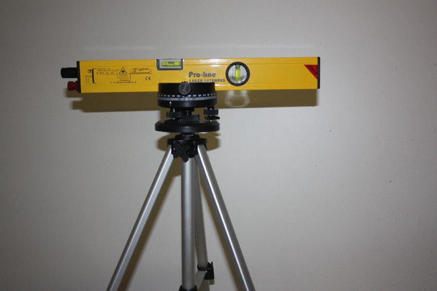 Laser vatterpas