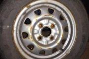 stålfælge med dæk