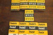 HVEM HVAD HVOR 9 stk