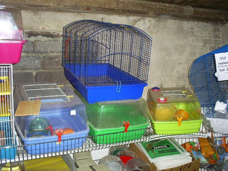 fugle og gnaver bure