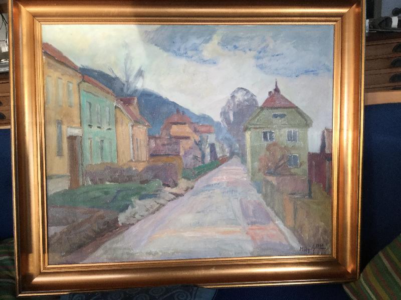 Mølgård Andersen maleri