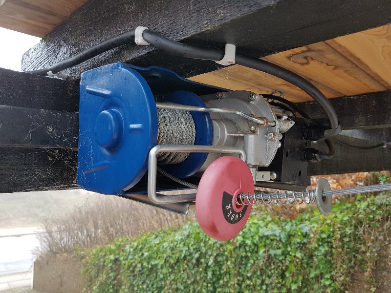 El-trækspil 300/600 kg. IP54