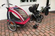 Nordic Cab gå-cykel vogn