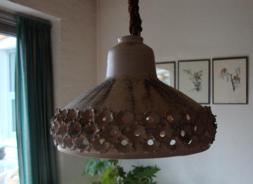 Keramik loftlampe