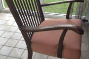 flot, gammel stol